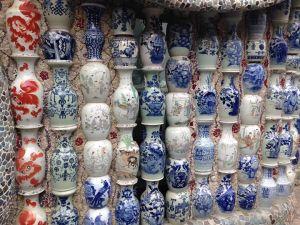 Vase wall