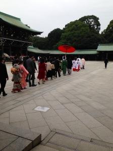 Wedding in the Shrine