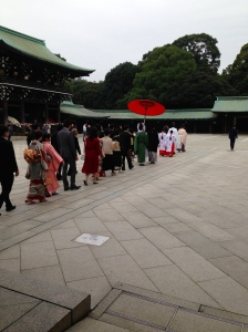 Wedding in the Shrine