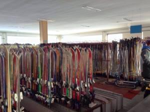Ancient skis!