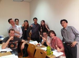 Cake break in class