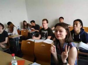 Ice-cream break in class